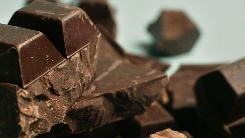 Плитки шоколаду