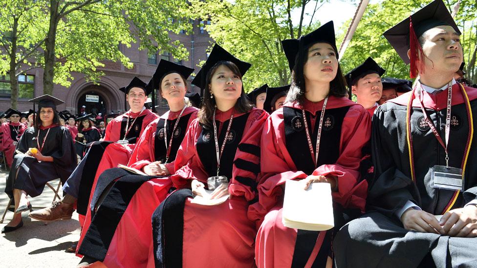 La popularidad de las universidades de EE.UU. ha sido vista como parte de su estatus de superpotencia.