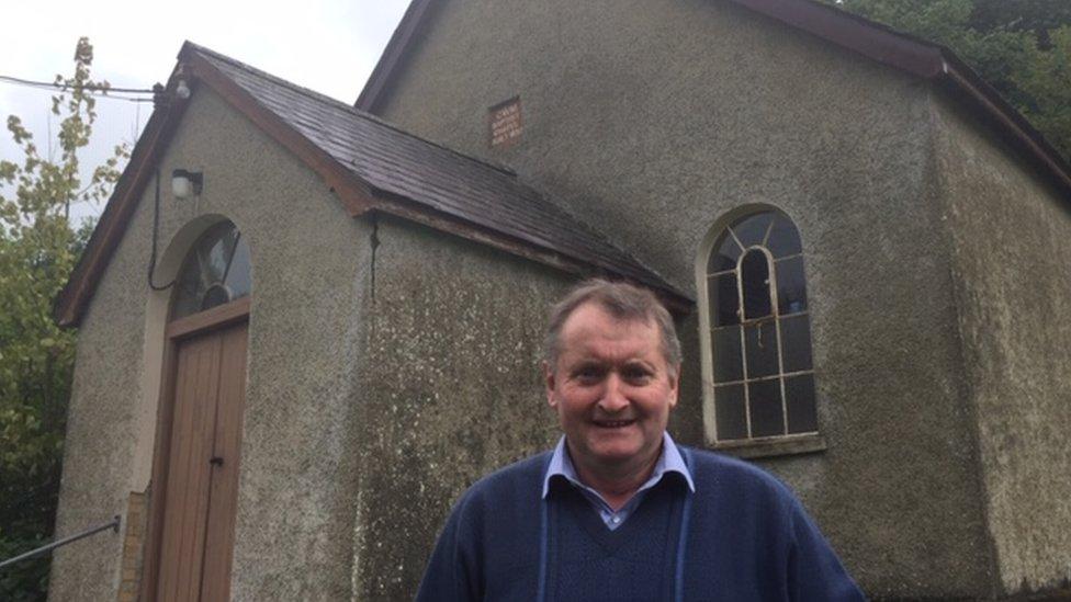 Wales' chapels: The Abernant man single-handedly keeping the doors open