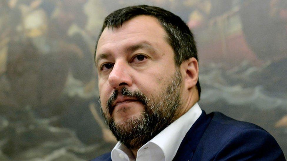 Başbakan Yardımcısı ve İçişleri Bakanı Matteo Salvini