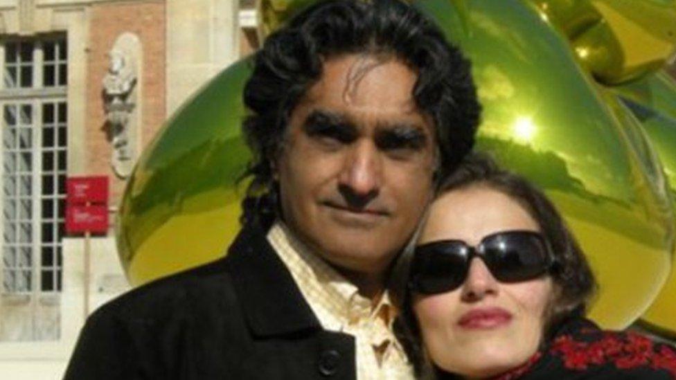 Karan Vafadari and Afarin Neyssari