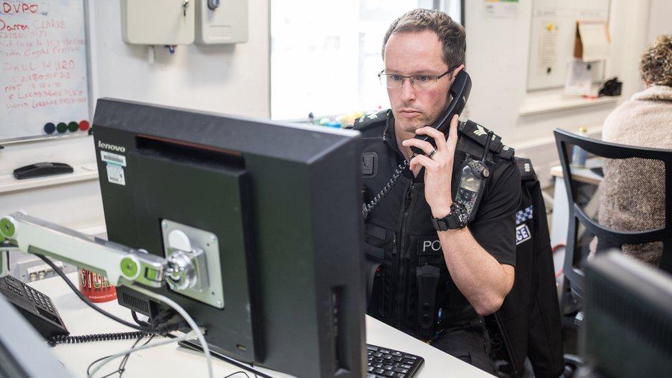 Sergeant O'Loughlin on the phone