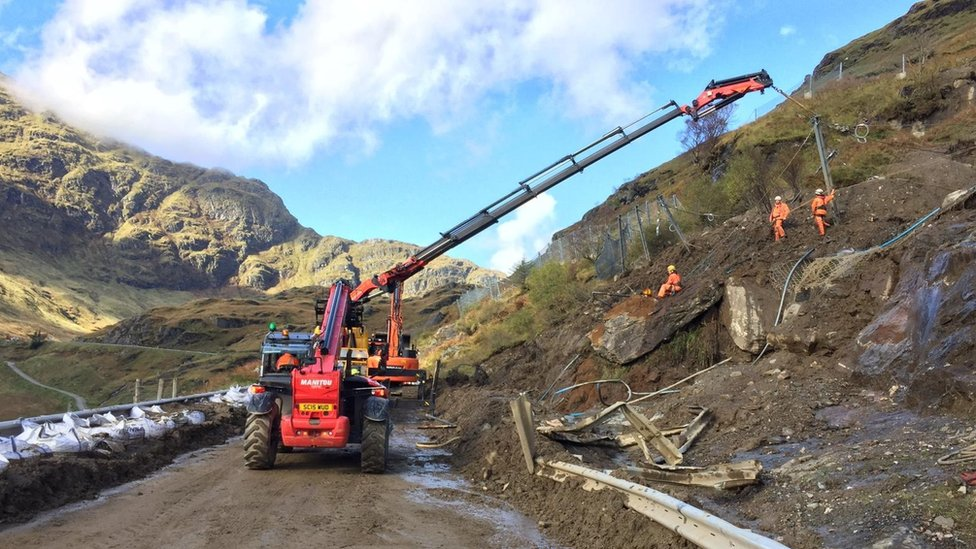 Rest and be Thankful finally reopens after landslips