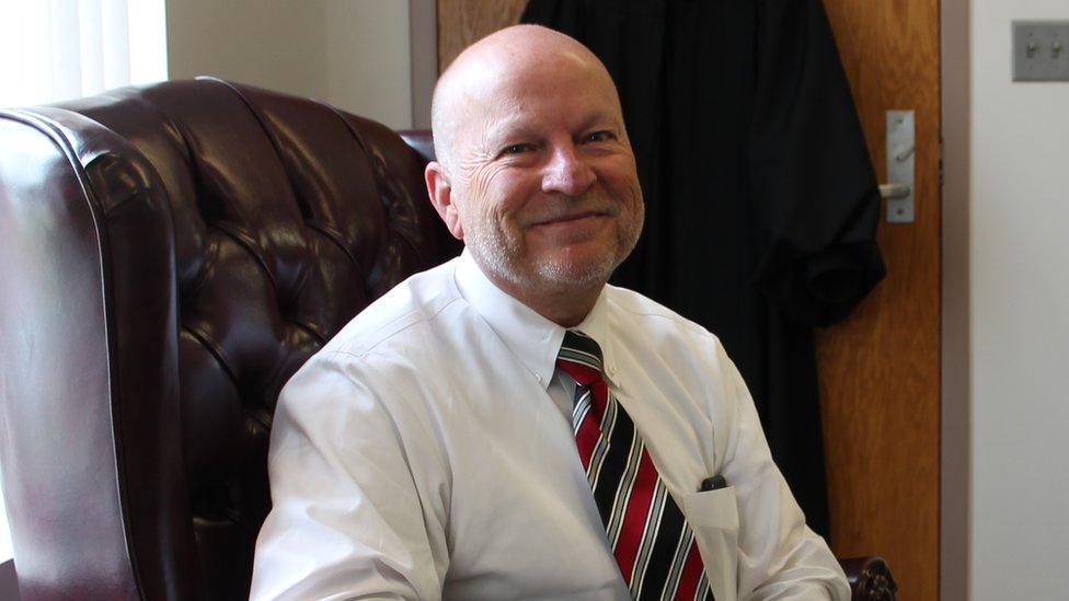 Judge Sam Benningfield