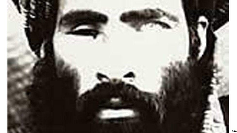 2013'te öldüğü sanılan Molla Muhammed Ömer'in nadir fotoğraflarından biri