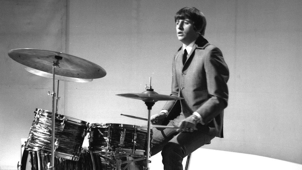 Ringo Starr Scalextric race: Bristol's Colston Hall reveals its past - BBC News