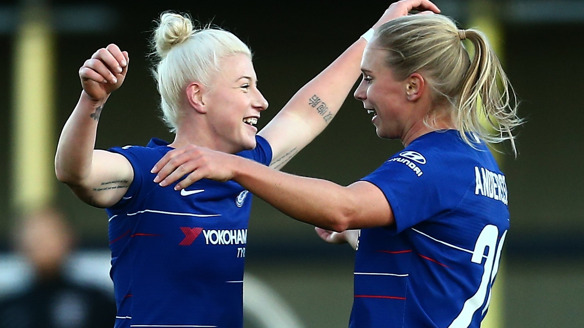 Chelsea Women 5-0 Yeovil Town Ladies: Five different scorers for Blues