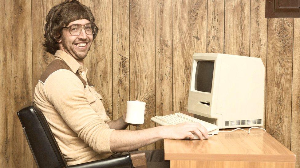 Las computadores en los 80 eran aparatos compactos, complicados de manejar y con poco atractivo visual.