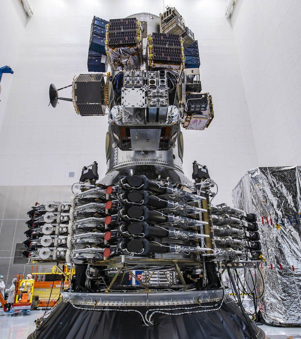 多衛星分配器