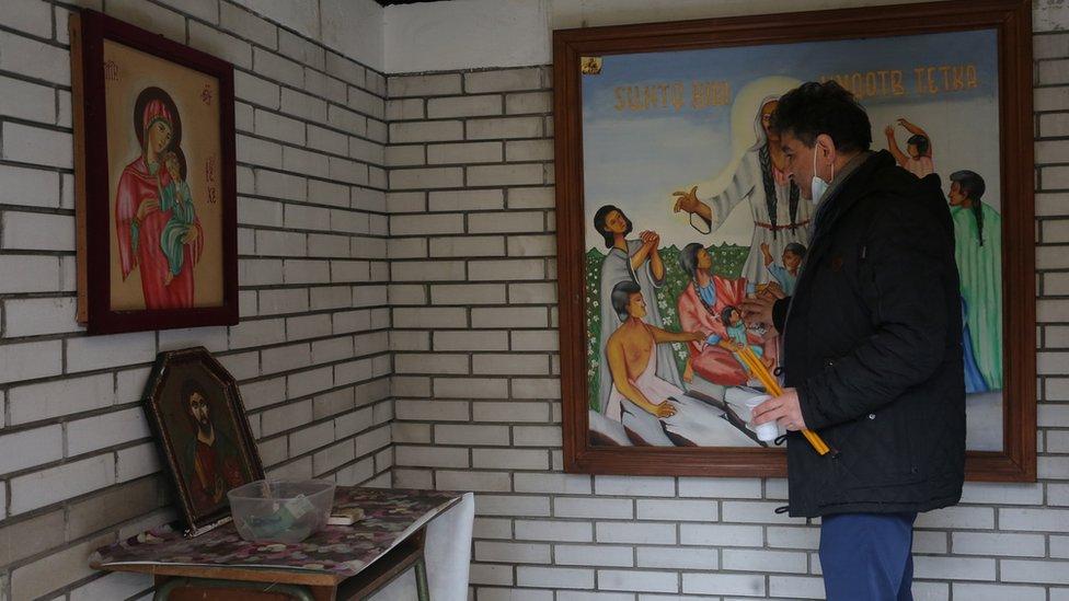 Tetkica Bibija, Romi