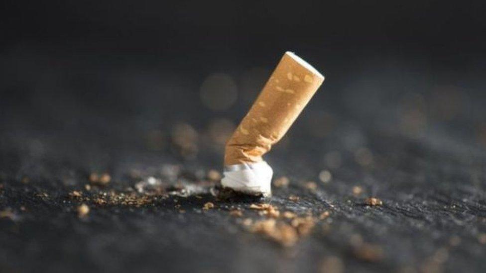 عقب سيجارة