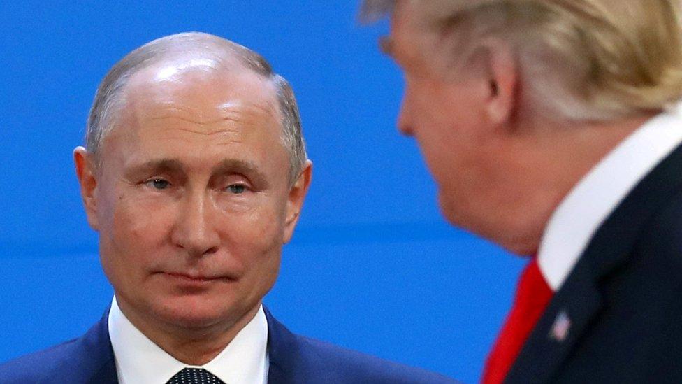 Vladimir Putin y Donald Trump NO USAR / BBC