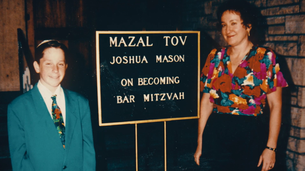 Josh at the time of his Bar Mitzvah