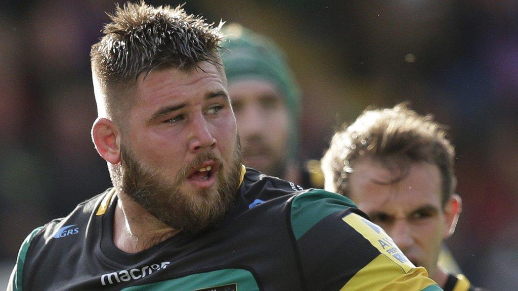 Kieran Brookes: Wasps sign Northampton Saints tight-head prop