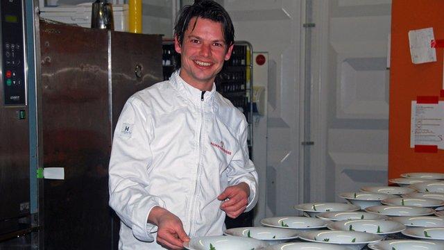 chef Jarno van Doremalen