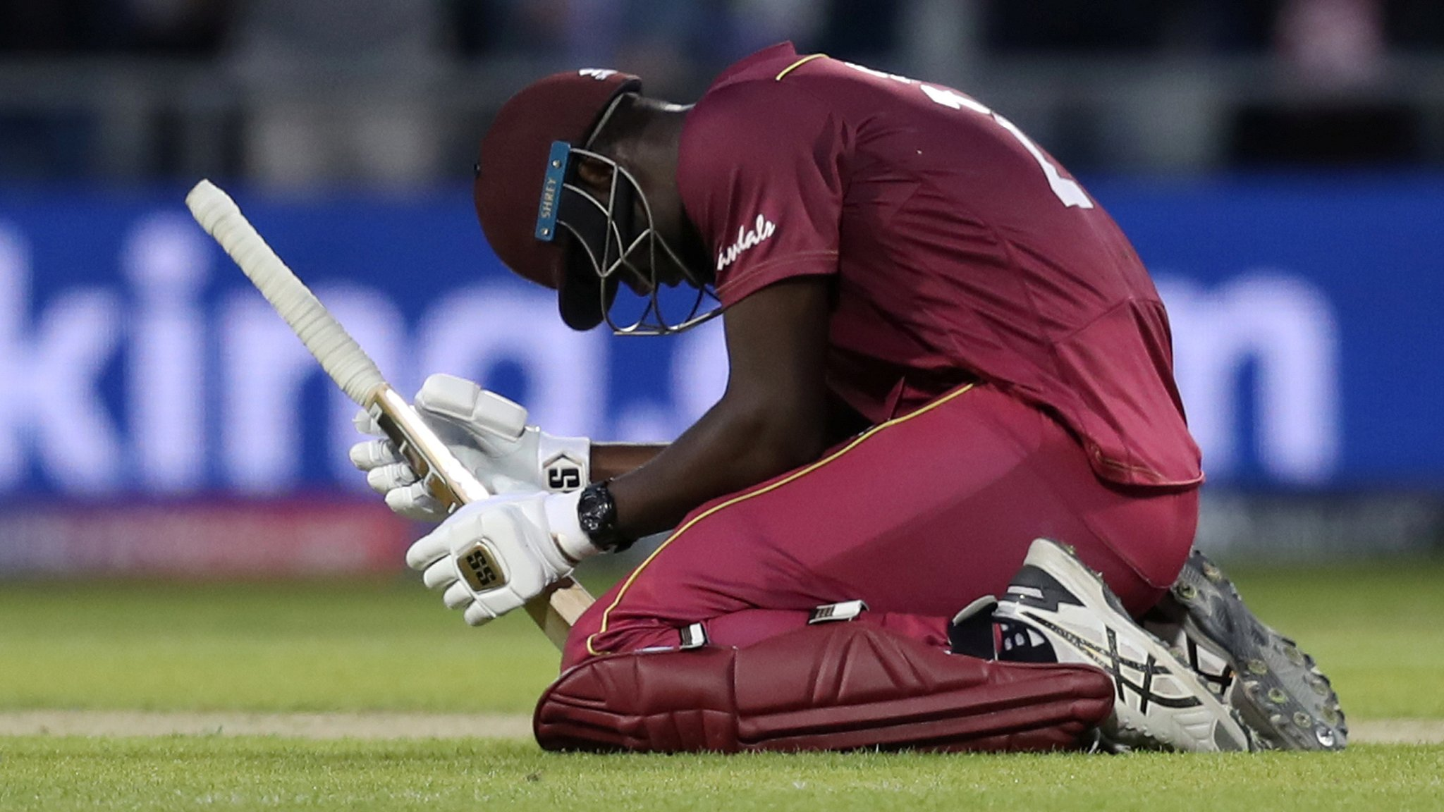 Cricket World Cup: West Indies fall just short in thriller against New Zealand