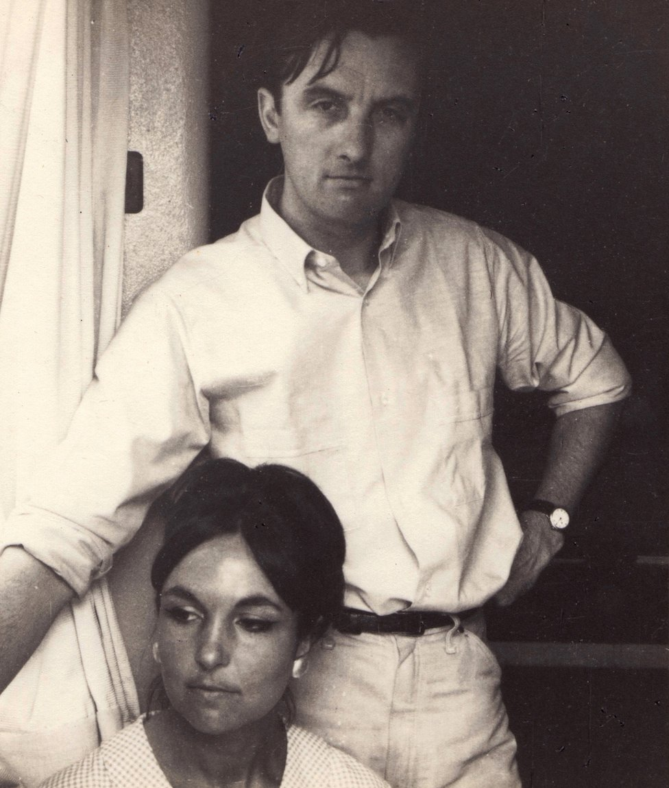 Paula Rego with her husband Victor Willing, with whom she had a passionate but complicated relationship