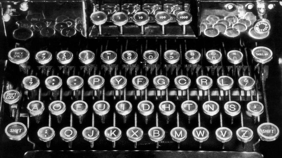 El teclado diseñado por August Dvorak