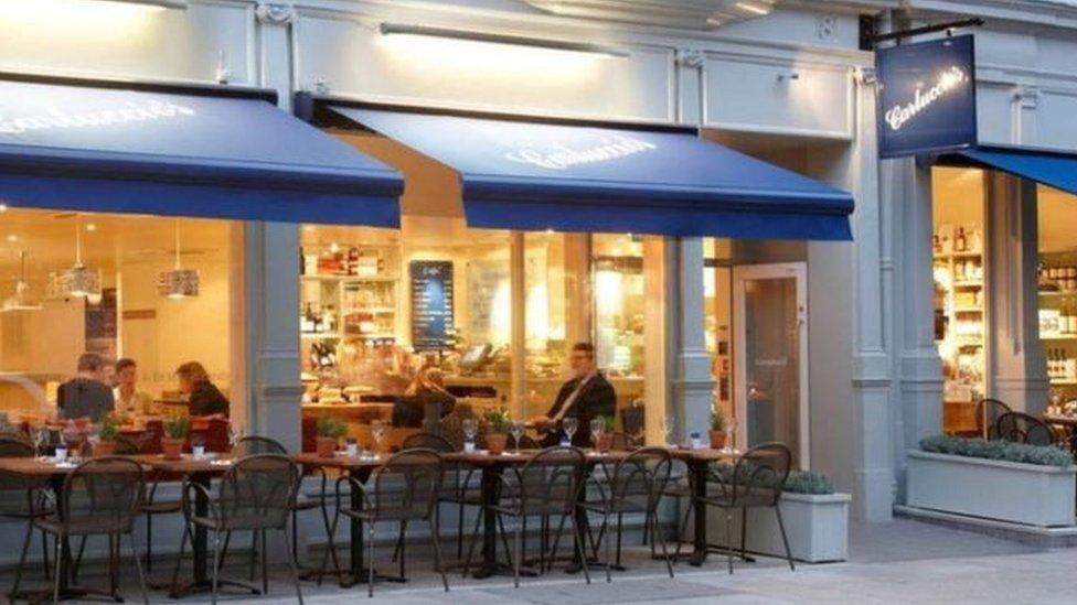 Carluccio's restaurant