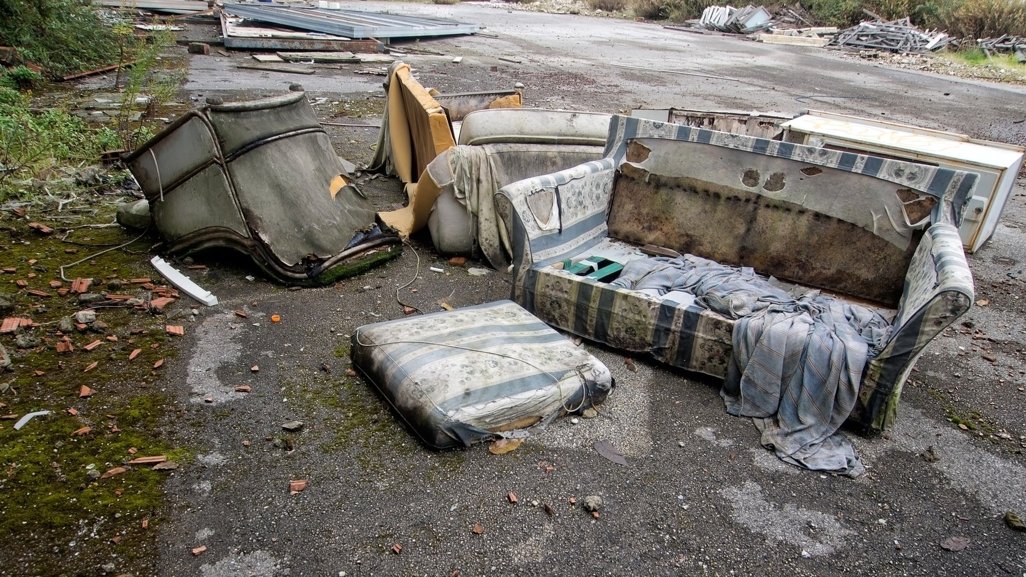Fly-tipping discovered 2,700 times a day in England