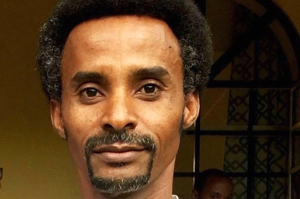 The BBC's Girmay Gebru