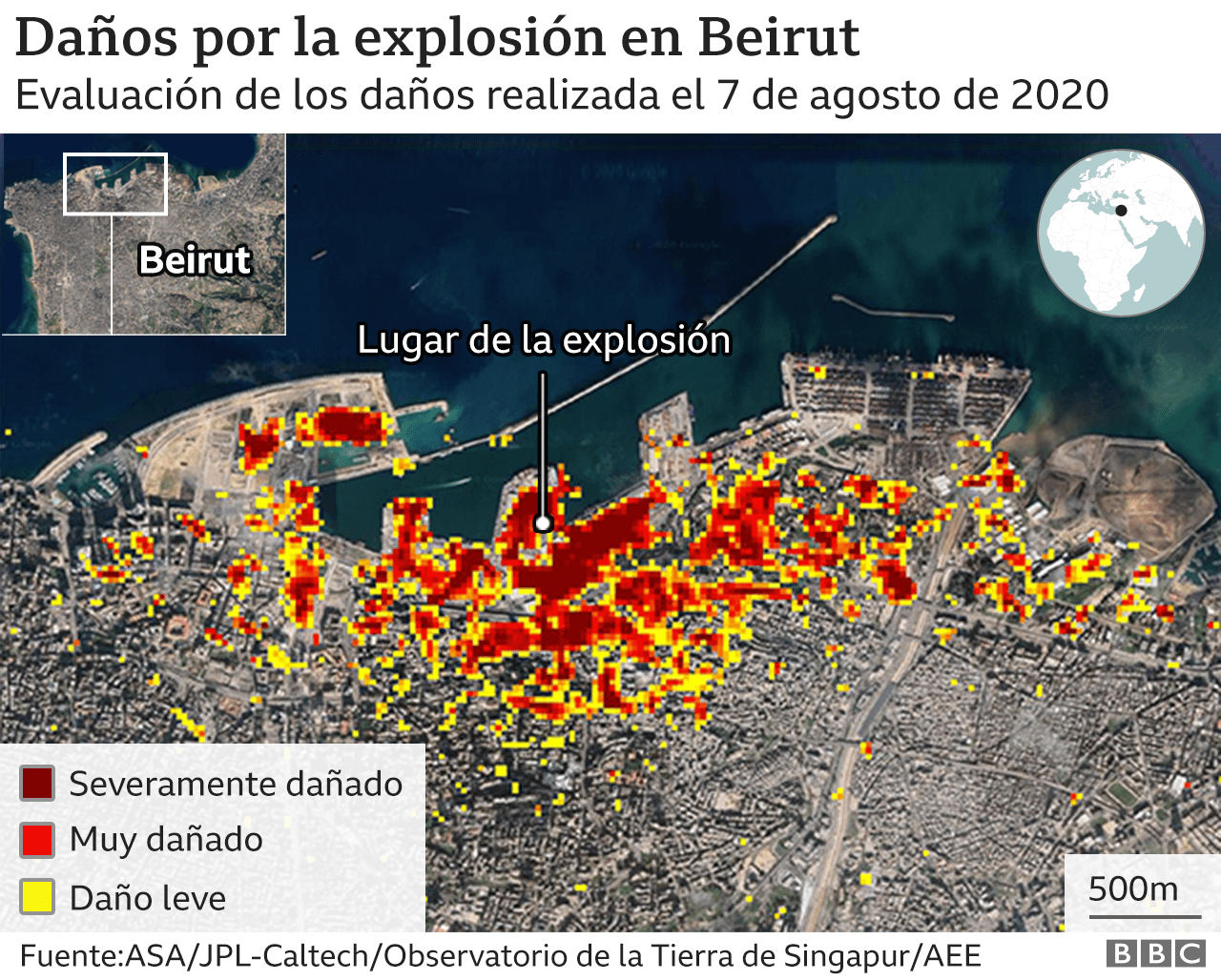 Mapa explosion