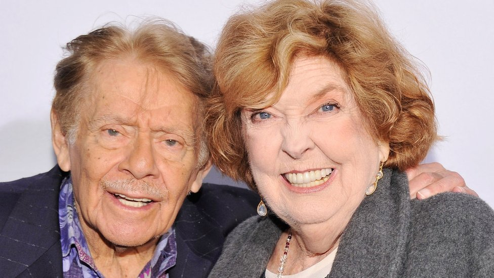 Jerry Stiller and Anne Meara in 2012