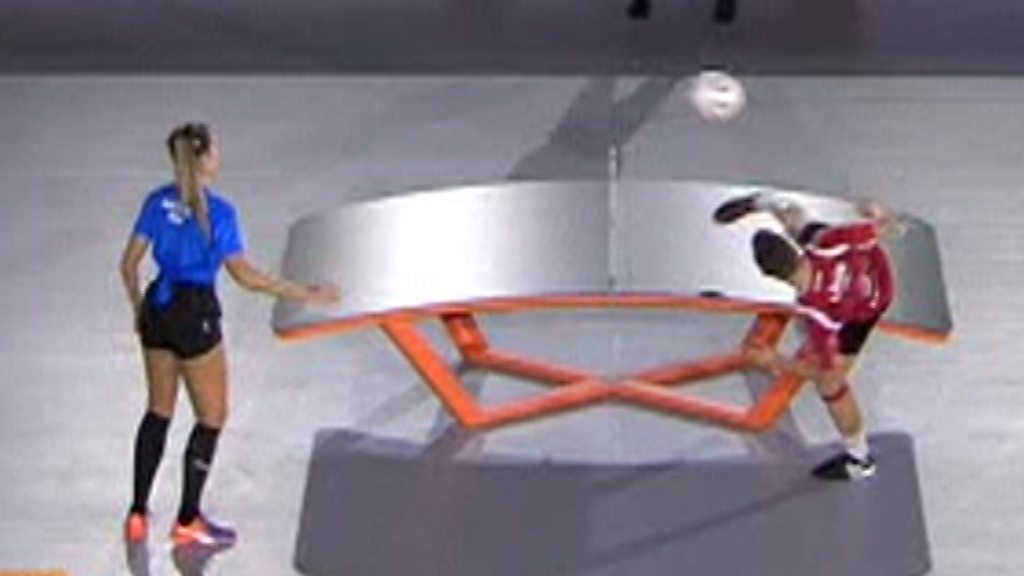 Teqball: The sport that crosses football with table tennis