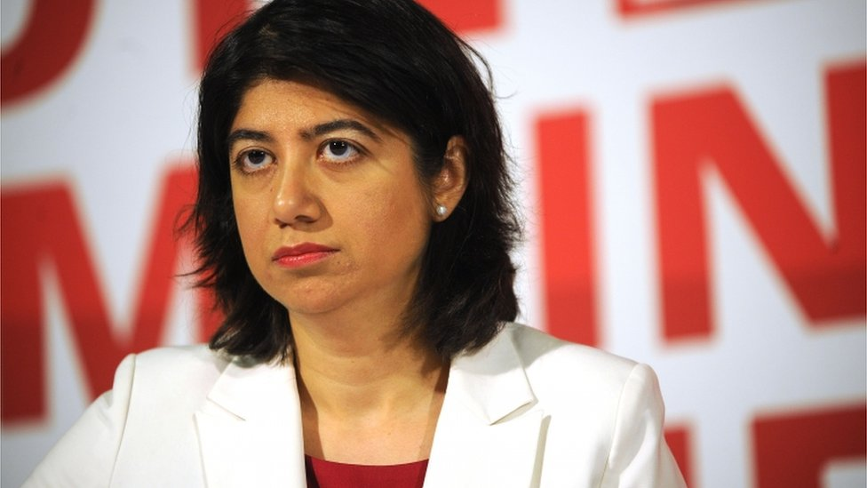 Seema Malhotra campaigning for the Remain side