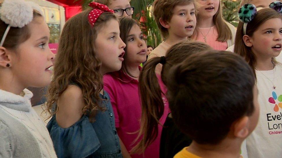 Children in Need: Kidney transplant children form choir