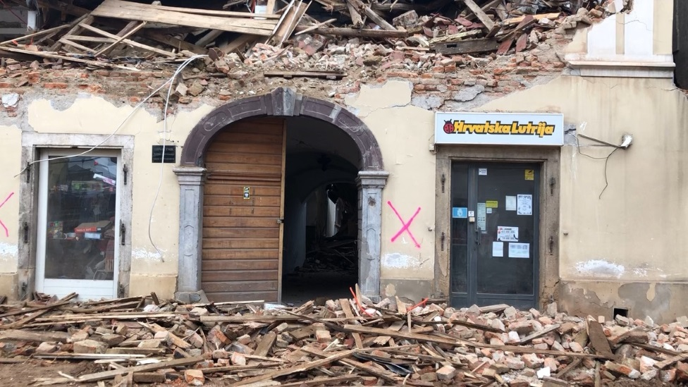 Petrinja, zemljotres
