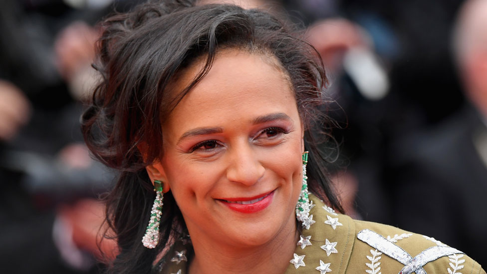 """Isabel dos Santos attends the screening of """"BlacKkKlansman"""" during the 71st annual Cannes Film Festival at Palais des Festivals on May 14, 2018 in Cannes, France"""
