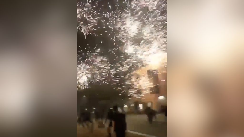 University of Northampton investigates fireworks on campus