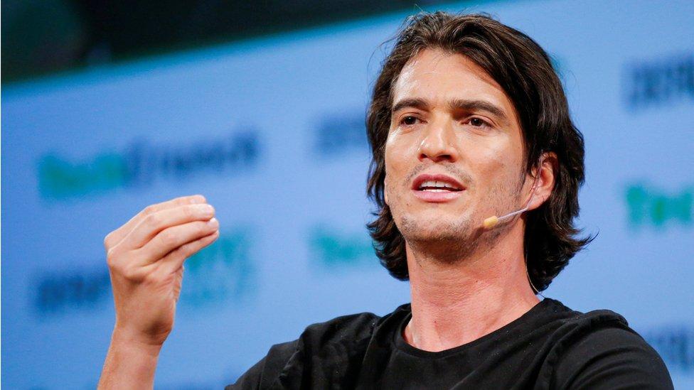 Adam Neumann, CEO of WeWork