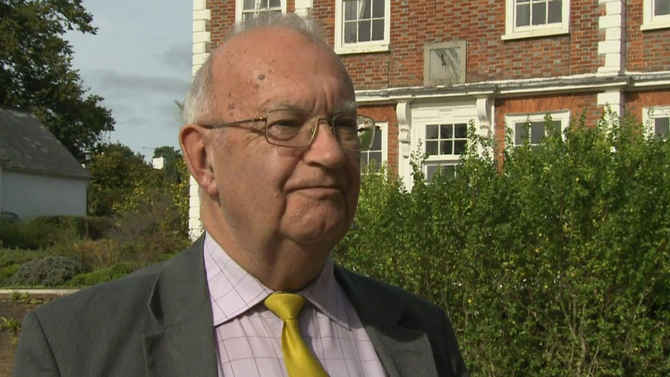 Devon councillor Brian Greenslade denies sexual assault