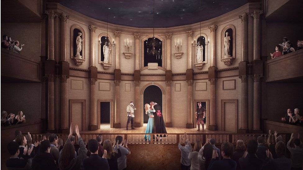 Artist's impression of Shakespeare North Playhouse