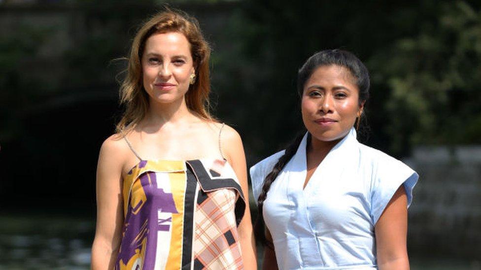 Marina de Tavira y Yalitza Aparicio