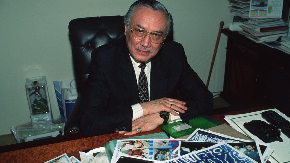 Mohammed Said Khoja, the Saudi Arabian envoy to Thailand in 2001
