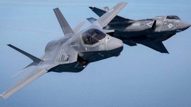F-35 savaş uçaklar