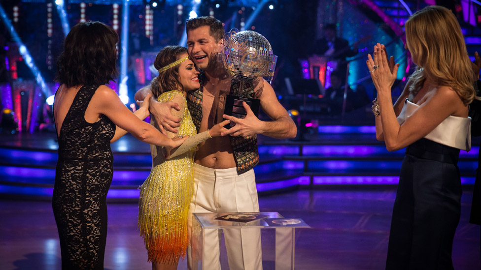 Winning Strictly Come Dancing in 2014