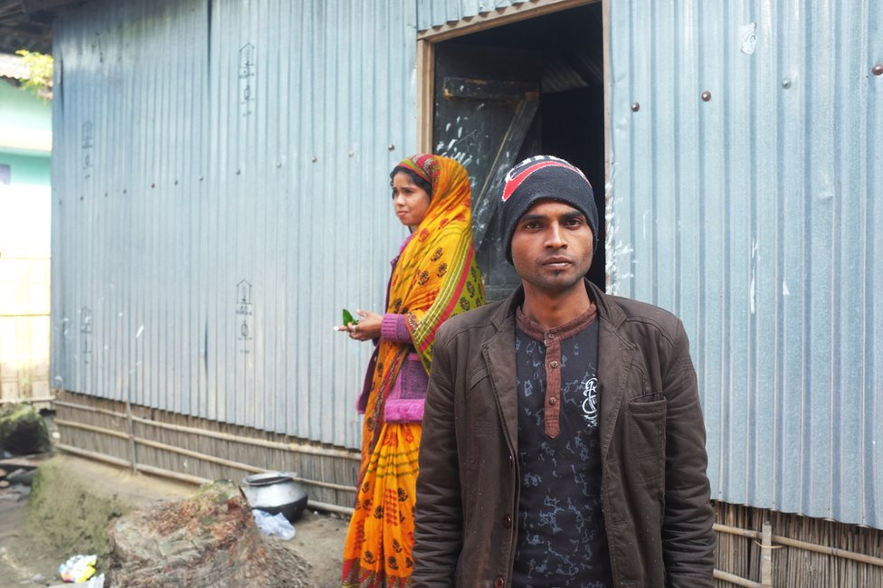 Abdul and his wife, Anjura Begum.