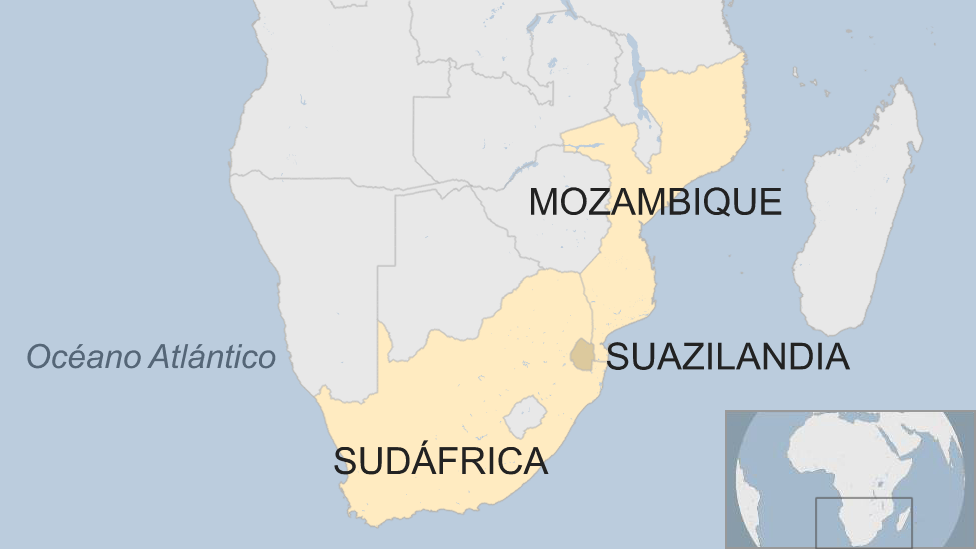Suazilandia cambia de nombre por deseo de su rey