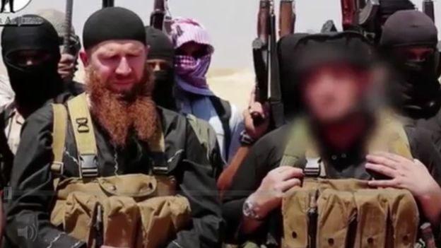المقاتلون الاجانب في صفوف تنظيم الدولة