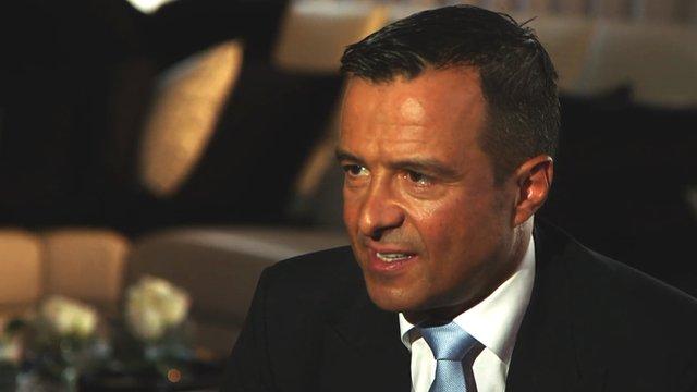 Jose Mourinho's agent Jorge Mendes