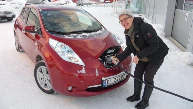 Geçen yıl Norveç'te satılan araçların yarıdan fazlası elektrikliydi