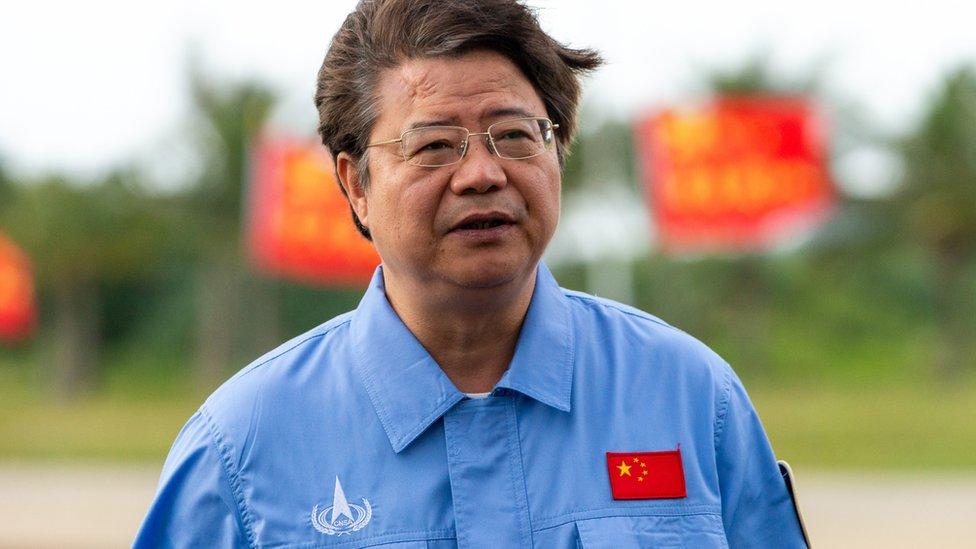 Pei Zhaoyu, vice director del Programa de Exploración Lunar de la Agencia Espacial China.