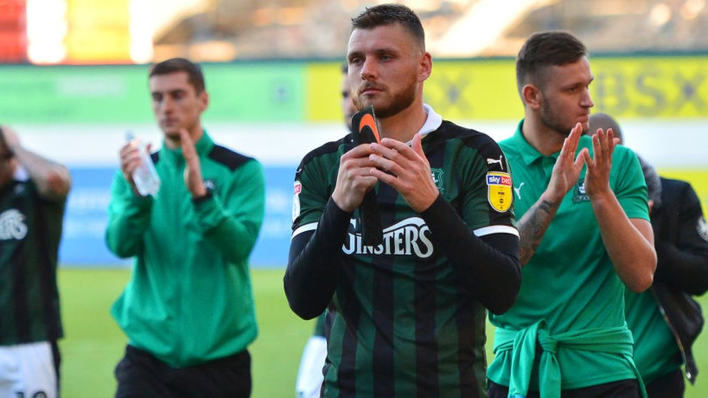 Ryan Edwards: Blackpool sign Plymouth Argyle defender on two-year contract