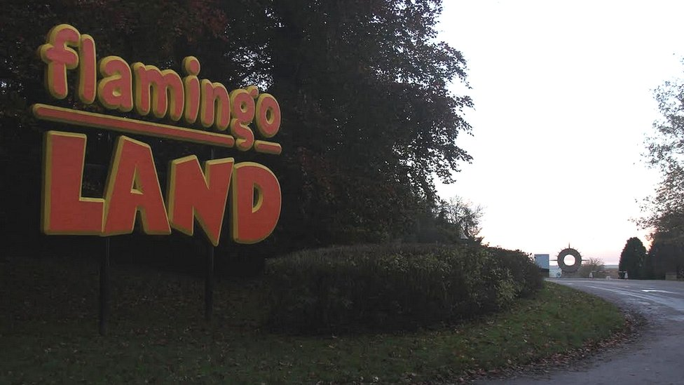 Flamingo Land entrance