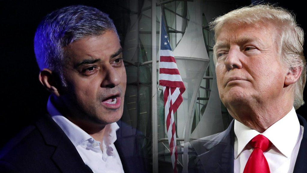 Donald Trump v Sadiq Khan: A war of words dating back years