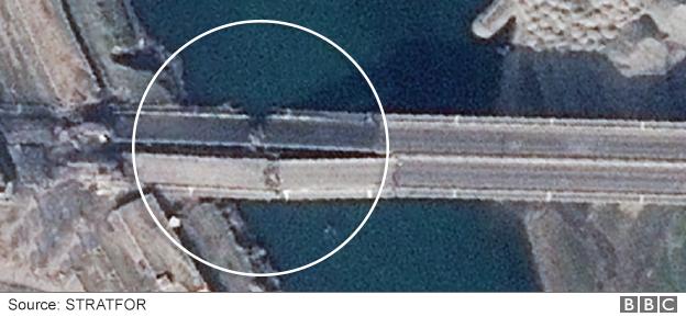 The Fourth Bridge in Mosul
